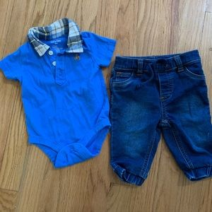 3-6 month boys outfit